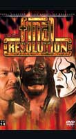 TNA Final Resolution 2007: Up close and very personal